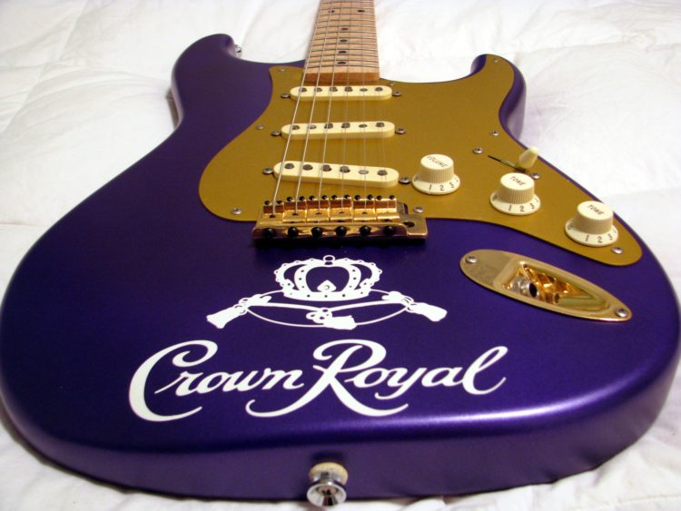 Crown Royal guitar